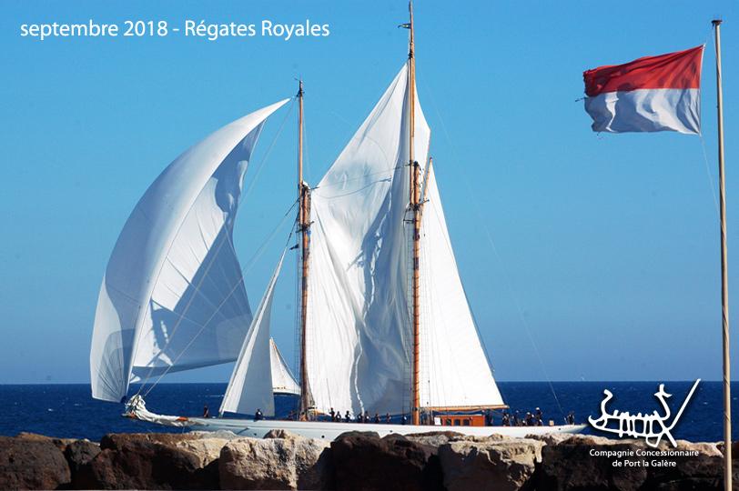 Régates Royales 2018 - Port la Galère