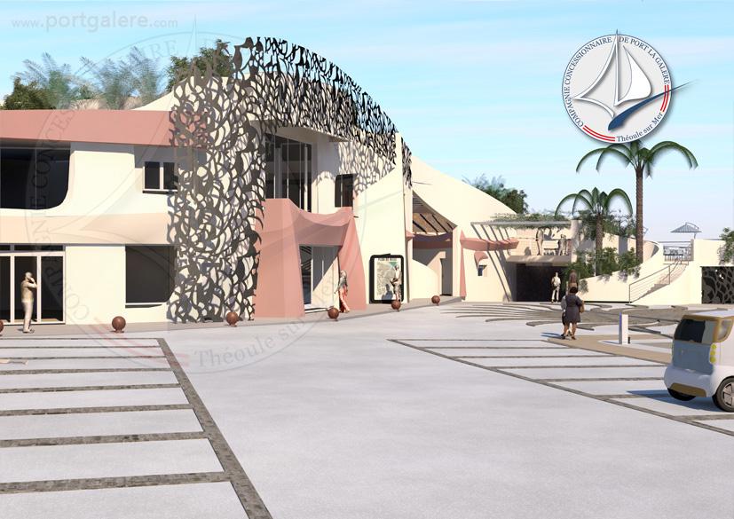 Quai d'honneur et espace évènementiels - Port la Galère