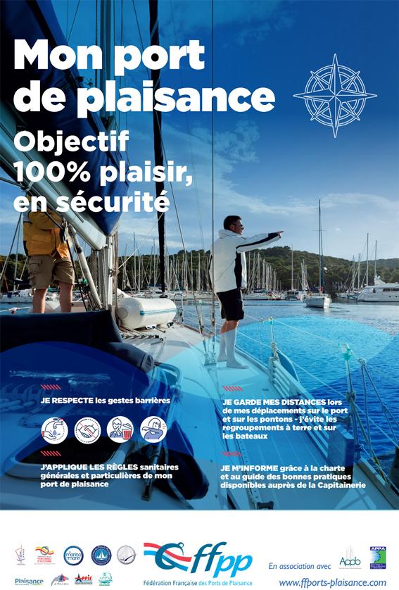 Consignes COVID 19 - Port la Galère
